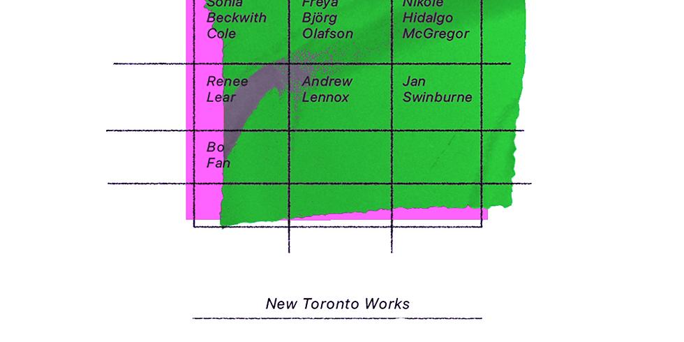 New Toronto Works - Livestream Screening