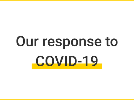 TEMPORARILY CLOSEd TO PUBLIC IN RESPONSE TO COVID-19 PANDEMIC