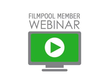 Filmpool Member Webinar – May 6th 11am