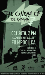 The Cinema of Dr. Caligari Selections Announced