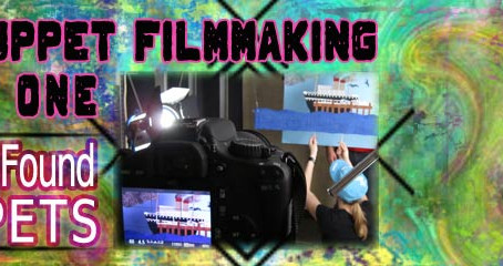 2D Puppet Filmmaking Part I:  How I Found Puppets