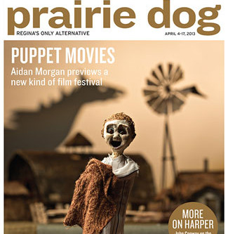 On the cover of the Prairie Dog