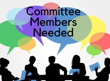 Call for Volunteers: Committee Members Needed