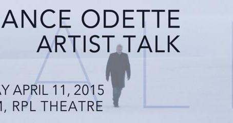 Terrance Odette ARTIST TALK