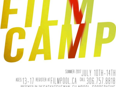Film Camp Registration Now Open!