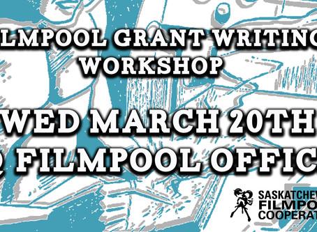 Filmpool Grant Writing Workshop