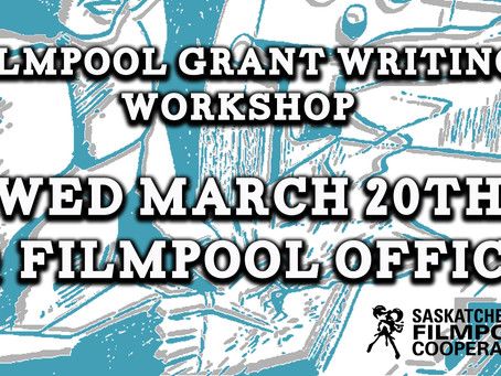 Filmpool Grant Writing Workshop