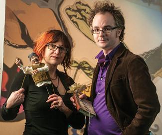 Chrystene Ells and Berny Hi IPUFF article in Prairie Dog