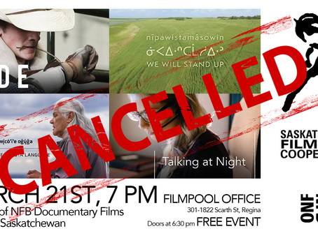 Cancelled Screening: March 21st