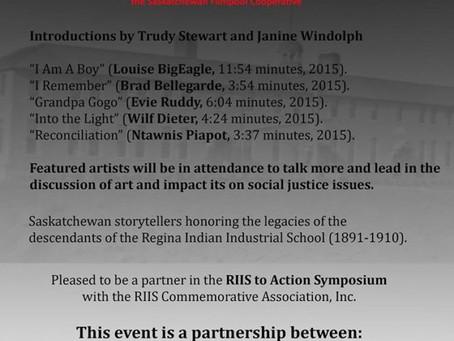 """""""RIIS Media Presents"""" short film screening"""