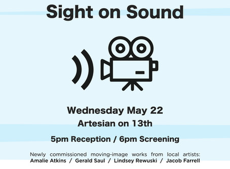 Screening Under the Steeple, May 22nd: Sight on Sound