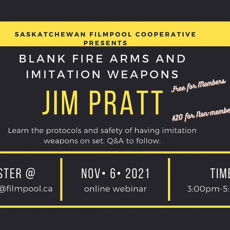 Blank Firearms and Imitations Weapon Webinar with Jim Pratt