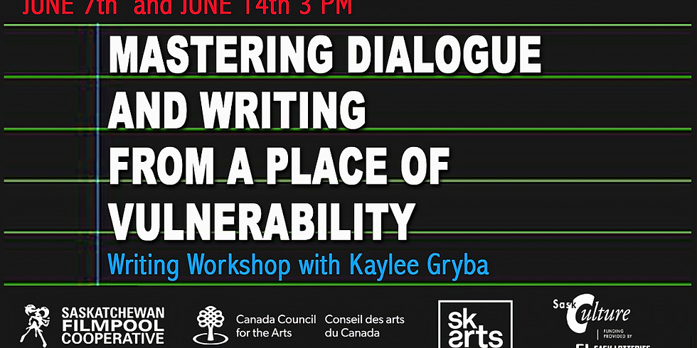 WRITING WORKSHOP WITH KAYLEE GRYBA