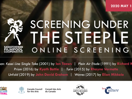 Screening Under the Steeple: CVAF online Screening May 19th 7pm