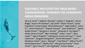 Publication on the conserved areas paradigm