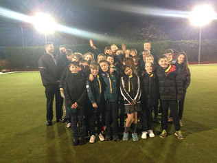 Holy Trinity Bowling Club hosted a 'bowls familiarisation' session