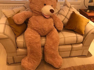 Giant teddy bears for sale £40 lovely soft n cuddly