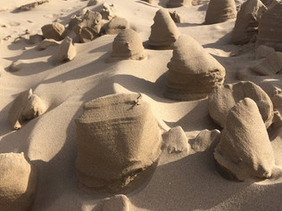 Amazing Westwind Sandcastles On Formby Beach