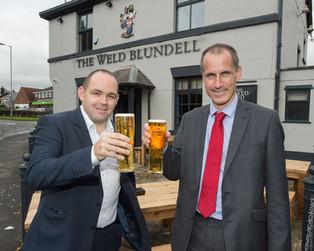 Local MP celebrates turnaround of Weld Blundell