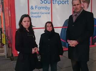 MP Bill Esterson writes to the Health Secretary about plans to shut A&E at Southport and Formby