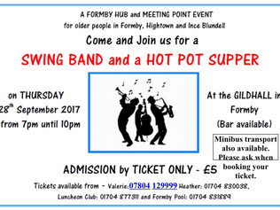 Swing Band and a Hot Pot Supper