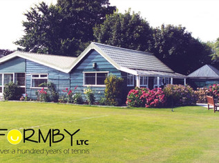 Formby Lawn Tennis Club was founded in the 1880's and still going strong today!