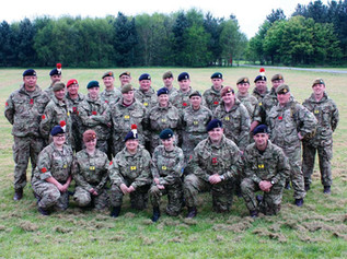Recruits successfully passed the latest phase of their training at Altcar