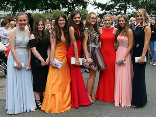 Glitz and Glamour at the Formby High School Prom