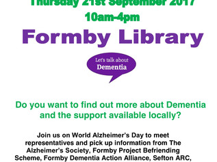 Dementia Advice Day at Formby Library