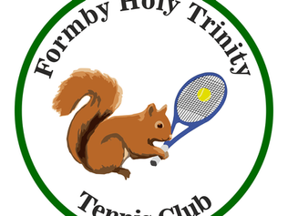 Formby Holy Trinity Tennis Club are calling Juniors of formby to come play tennis over the summer ho