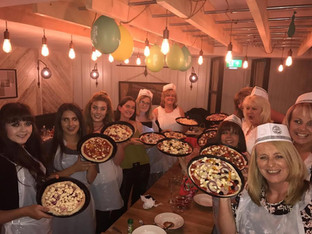 Formby Bubble ladies experience an adult party with a difference in Formby village