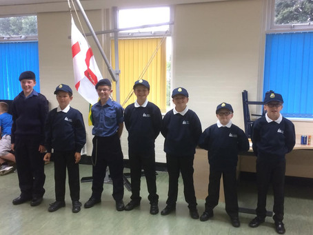 Formby Maritime Cadets held their first ever Promotion ceremony