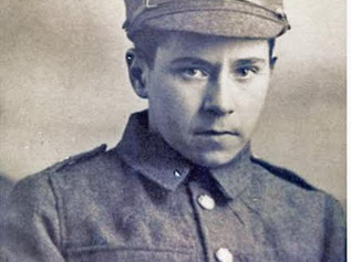 Young Tom Bailey - A Formby Boy in WW1