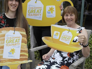 Marie Curie is counting on your cup Host a Blooming Great Tea Party this June
