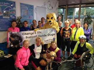 Formby Stormers ladies running group's aim is to reach a £5,000 target to sponsor a guide dog an