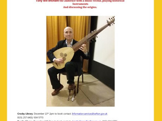 Tony Crotty Music Recital