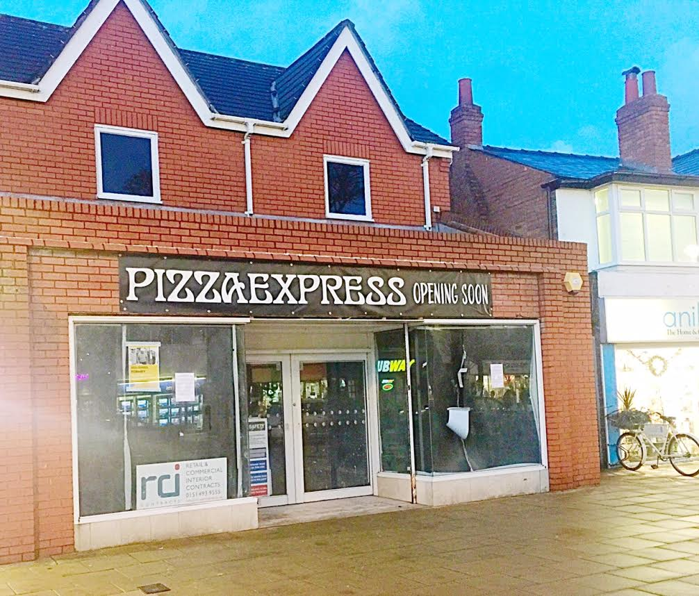 A Pizza Express Restaurant It Set To Open In Formby