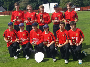 Formby Cricket Club with a Triple Cup Success!