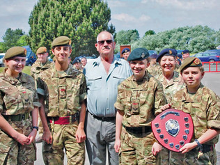 Merseyside ACF Team win First Aid Training competition for eighth year running