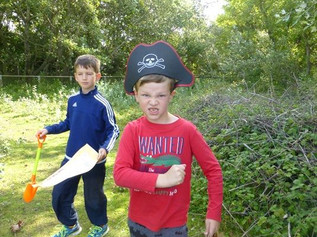 Sefton Coast Landscape Partnership Pirate Treasure Trail and try to find Natterjack Jake's treas