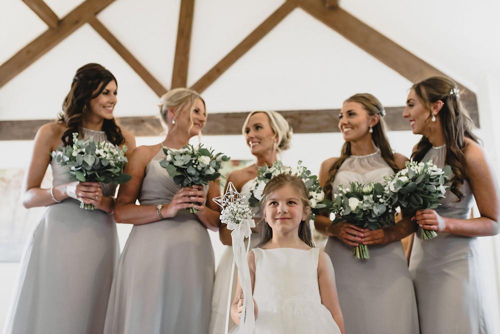 barn bride room