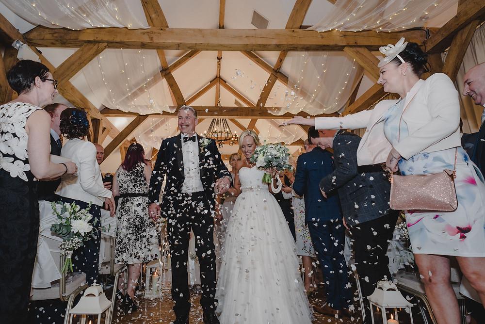 wedding confetti pictures
