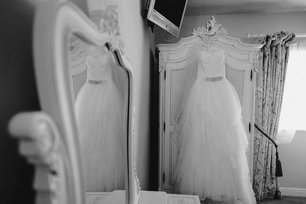 barn wedding dressing room