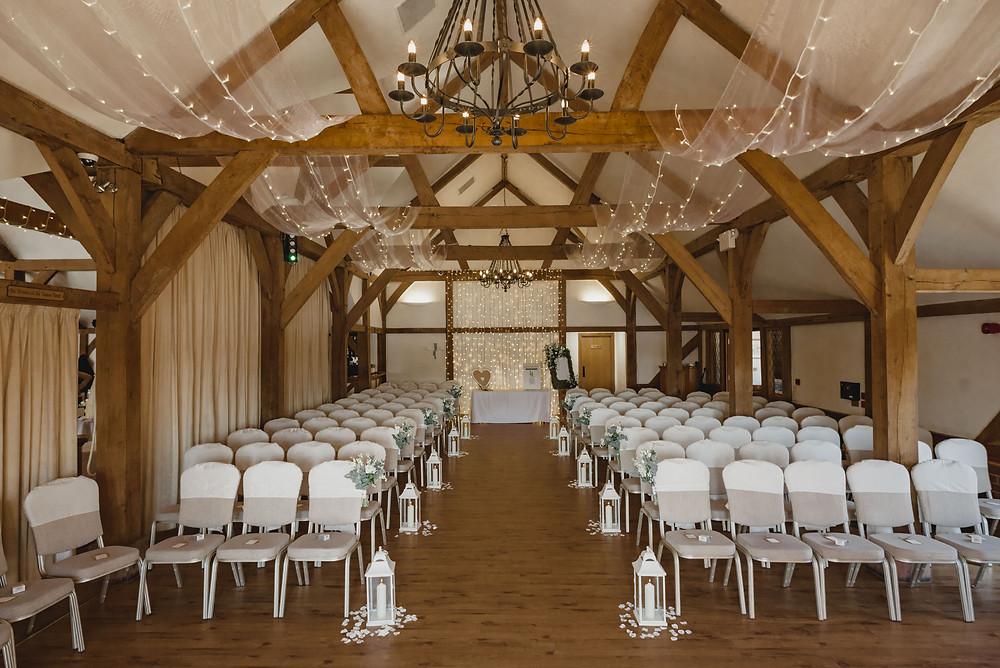 Sand hole oak barn
