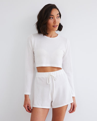 DAY DRINK TOP WHITE (PRE ORDER)