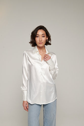 Bloom shirt white