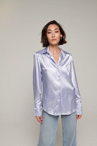 Bloom blouse lilac