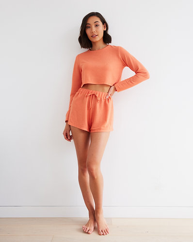 DATE NIGHT SHORTS CORAL (PRE ORDER)