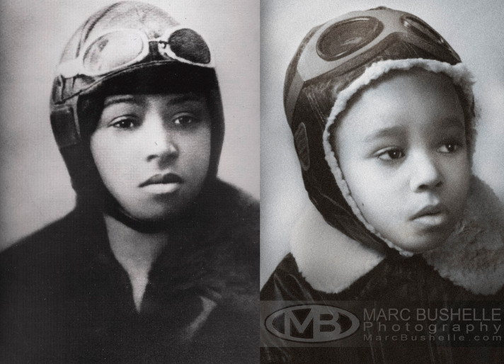 Lily as Bessie Coleman
