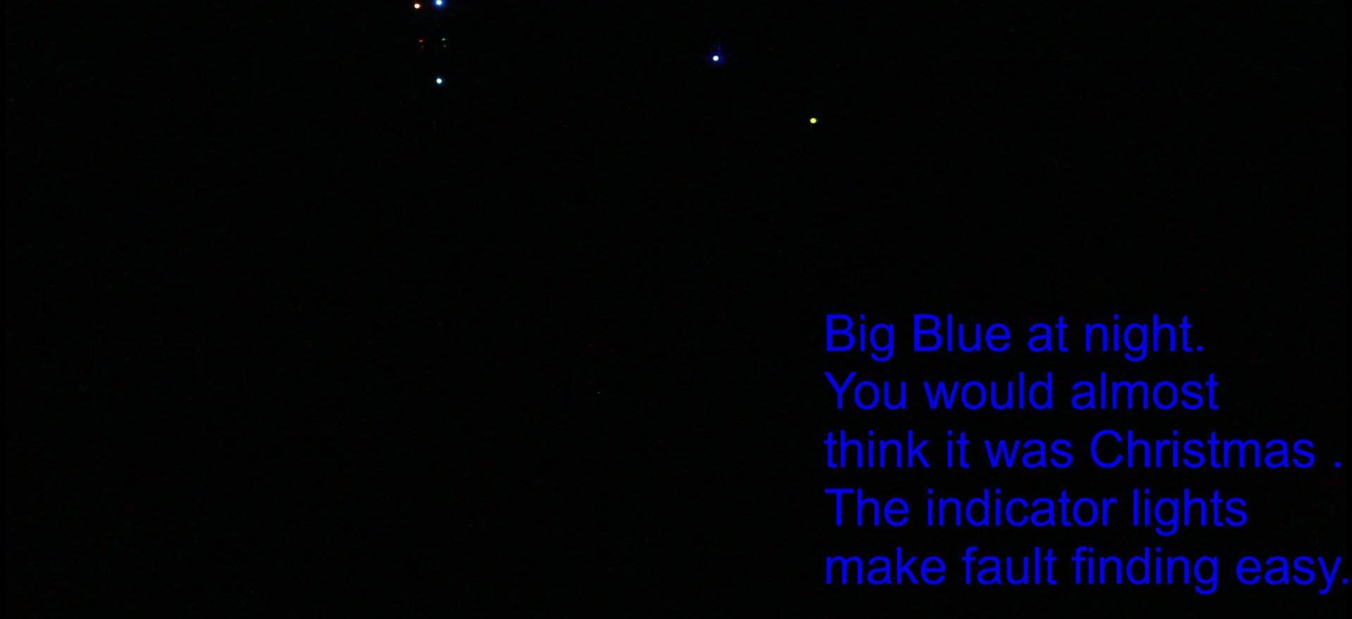 Big Blue First Power Up.